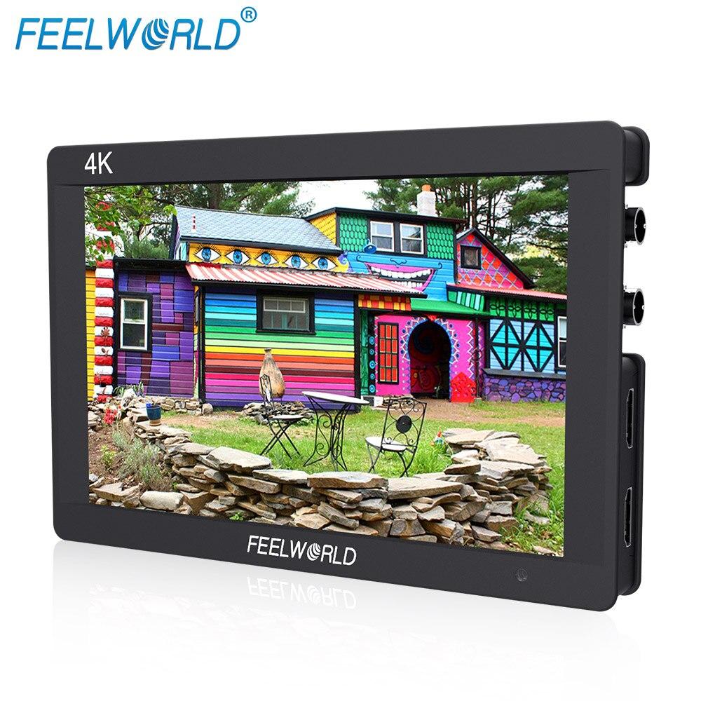 Feelworld F7S 7 дюймов 3G SDI HDMI монитор 7 ips 4 К 1920x1200 Full HD Камера поле монитор С гистограммы пиковый фокус Зебра