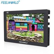 "F7S Feelworld 7 Inç 3G-SDI HDMI Monitör 7 ""IPS 4 K Histogram ile 1920×1200 Full HD Kamera Alan Monitör Peaking Odak Zebra"