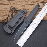 Hot Sale Survival Knife USA Fixed 440C Steel Blade Knife With ABS Sheath Huntting Tactical Knives