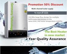 2018 новые Технология Интеллектуальные Постоянной Температура indoor 12L LPG водонагреватель CE 110 В/220 В
