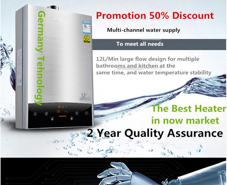 2019 Neueste Technologie Intelligente Konstante Temperatur Innen 12l Lpg Wasser Heizung Ce 110 V/220 V Moderne Techniken