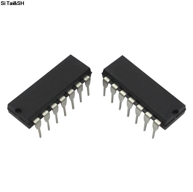 10pcs  SN74HC4066N DIP14 SN74HC4066 DIP 74HC4066N 74HC4066 New And Original IC