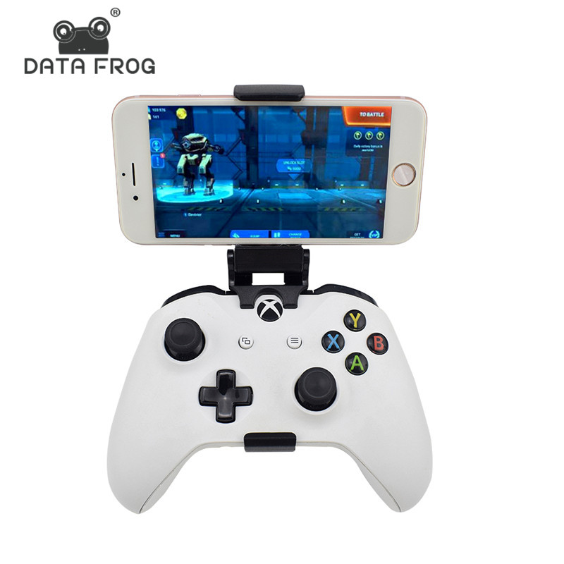 Data Frog Phone Stand Mount Hand Grip For Xbox ONE Slim/S Game Controller Gamepad Stands ...
