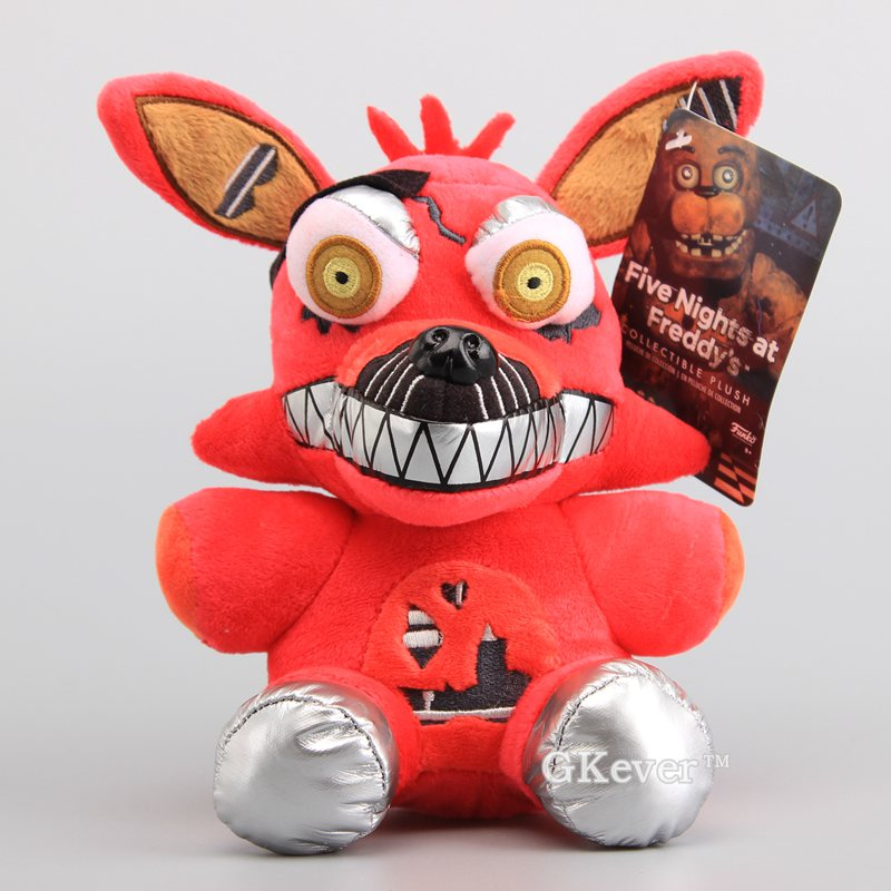 US $6 99 |Five Nights FNAF Foxy Red Color Soft Dolls Plush Toys Stuffed  Animals Soft Toys 7
