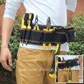 Multi-color electricistas herramienta de reparación cinturón bolsa Herramienta de bolsillo bolso de la cintura impermeable multifuncional carpintero de tela Oxford bolsa de herramientas