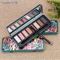 2016 El Más Nuevo Caliente de 8 Colores de Sombra de Ojos Tierra Maquillaje de Colores de Sombra de Ojos Shimmer Sombra de Ojos Smokey Metal Paleta Cosmética Set de Maquillaje