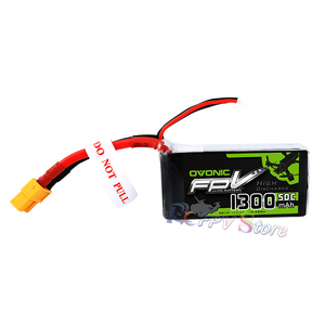 Image 2 - Ovonic High Rate Battery 1300/1550 MAh3 4S 50 80 100C Through FPV lithium Battery