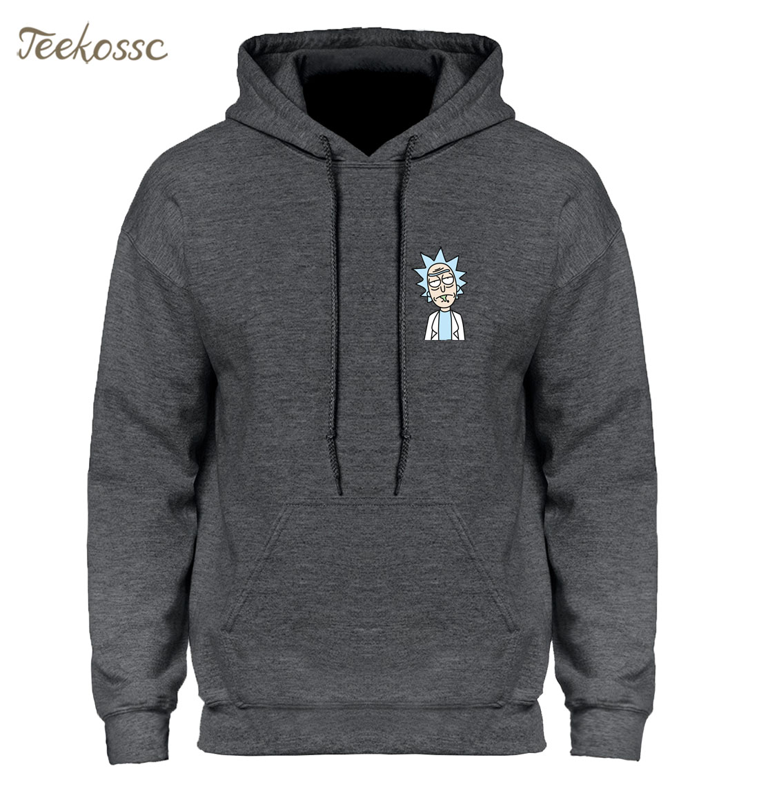 Rick And Morty Hoodie Hoodies Sweatshirt Men 2018 Winter Autumn Hooded Hoody Cartoon New Fashion Casual Loose Homme Rick Jacket