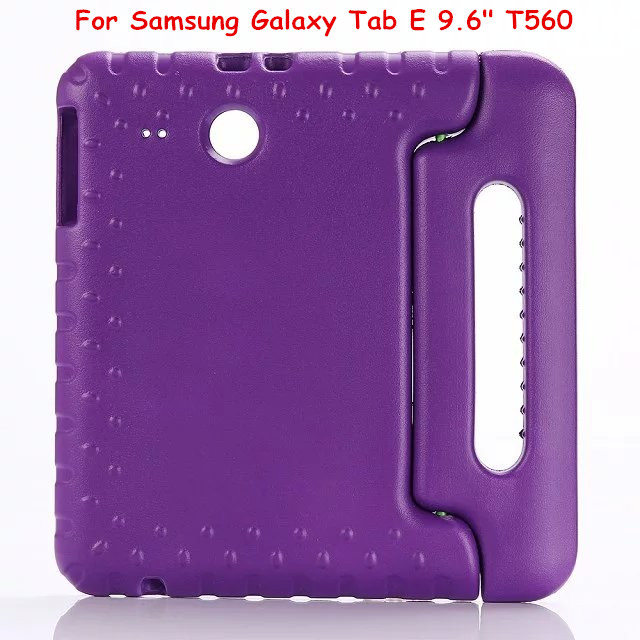 EVA Enviromental Case Cover For Samsung Galaxy Tab E 9.6 inch T560 T561 Tablet Case with hand holder and can stand