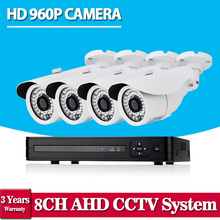 CCTV AHD 8CH 1080N 3G DVR recorder HDMI 1080P 8 Channel DVR NVR for 1.0MP HD Camera CCTV home video security surveillance system
