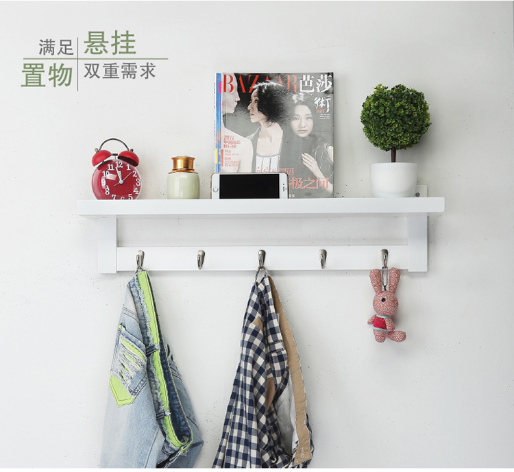 """""""Creative Hanging Hook"""" nekilnojamojo medinės sienos pakabinimo - Organizavimas ir saugojimas namuose - Nuotrauka 6"""