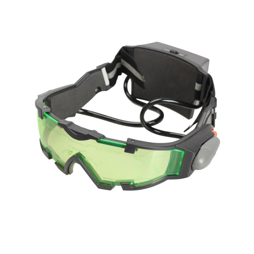 Professional Hunting Night Vision Goggles Green Special Lens LED Lights Ergonomic Goggles Night Vision Device With Original Box