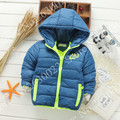 2017 Hot Sale Winter Jacket Hooded Baby Girl/Boy Clothes Coat Long Sleeve Windproof Outerwear Children Kids Jacket 2-7Years old