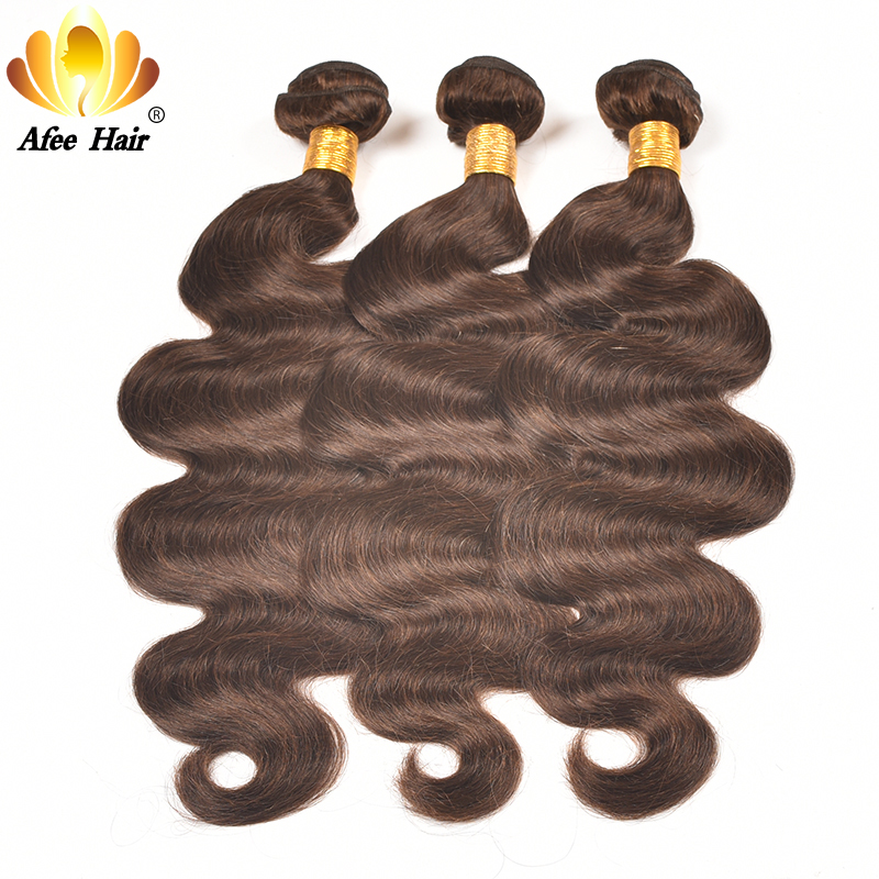 AliAfee Hårbrasilianska Body Wave Hair Weave Bundles 3 PC Deal Non - Mänskligt hår (svart)