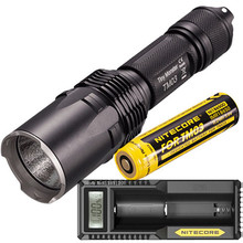 Nitecore Tiny Monster TM03 FourCREE XHP70 LEDs Tactical Flashlight 2800 Lumens with TM03 18650 for Hunting Fishing Free shipping