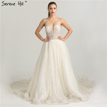 Dubai Designer Luxury Wedding Dress Sleeveless Serene Hill
