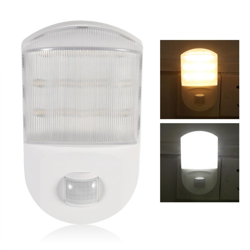 Led night light warm white - Infrared Motion Detector Sensor Led Night Light Home Bedroom Hallway Decoration Night Lamp Eu Warm