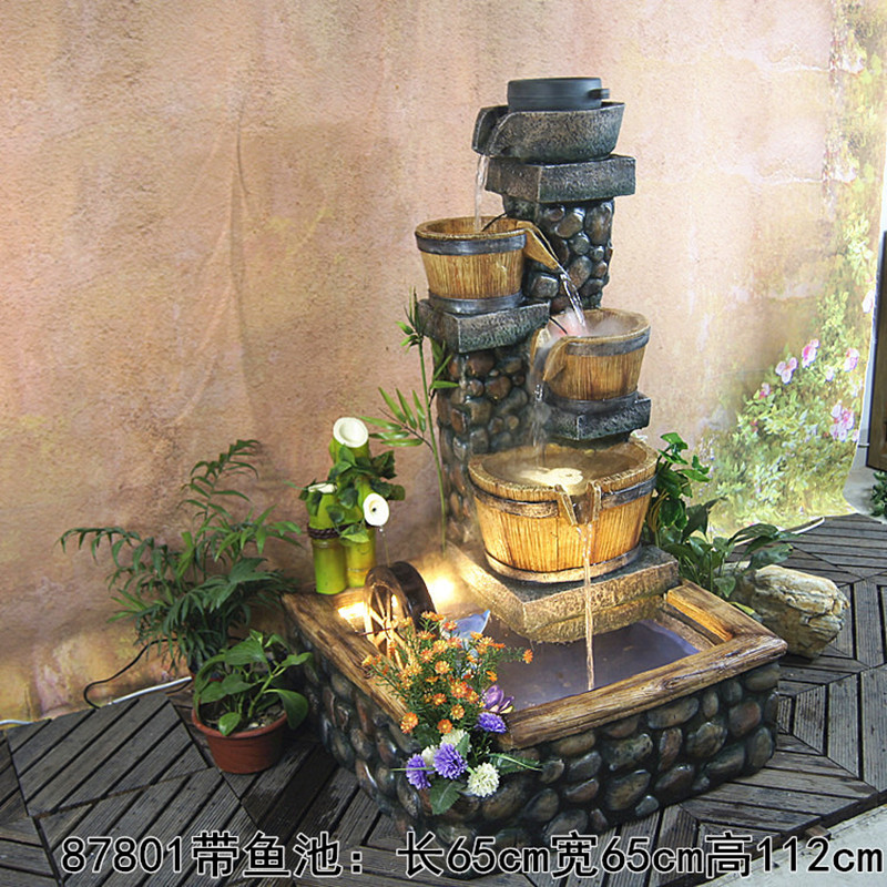 hoteles wi th bomba de estanque de peces feng shui fuente de agua decoracin de