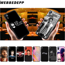 WEBBEDEPP Lil Dicky New Album Earth Soft Silicone Case for iPhone 11 Pro Xr Xs Max X or 10 8 7 6 6S Plus 5 5S SE Case 8 Plus lil dicky london