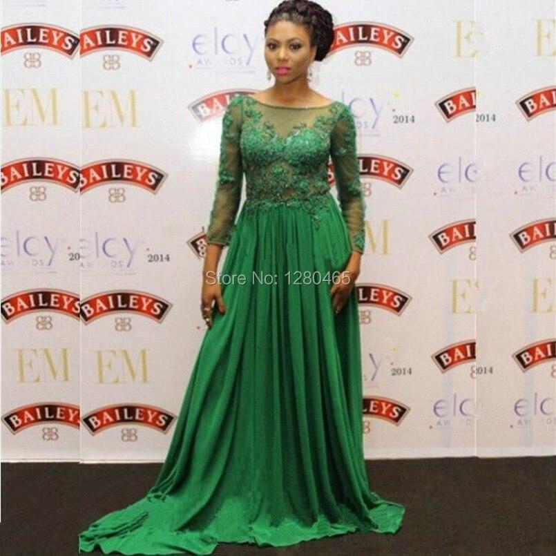 Aliexpress.com : Buy Vestidos Largos de Noche 2016 Emerald Green ...