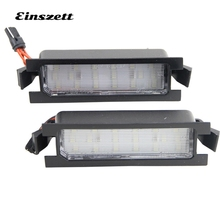 Einszett 1Pair Car LED License Plate Light Bulbs No Error 18LED With Accessories For Hyundai I30 5D hatchback wagon 2013-2014