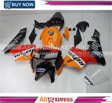 2006-NEW-2013-REPSOL Free Clea Windscreen ABS Plastic Cover For Honda CBR600RR 2005 2006 Fairing Bodywork
