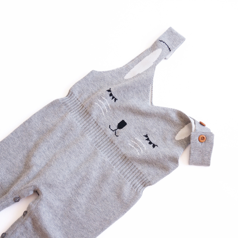 dff3a11cd MILANCEL 2018 New Baby Rompers Knitted Baby Girls Jumpsuits Rabbit Boys  Rompers Sleeveless Girls Clothes Cute Boys Outerwear-in Rompers from Mother  & Kids ...