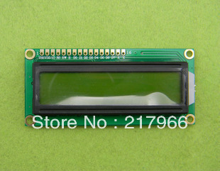 5PCS X LCD1602 LCD 1602 Yellow And Green Screen With Backlight LCD Display LCD-1602-3.3V