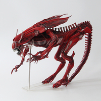 Movie AVP Anime robot toy Alien VS Predator NECA ALIENS Red Queen Mother PVC Action Figure 38cm/15 Collectible Model toys