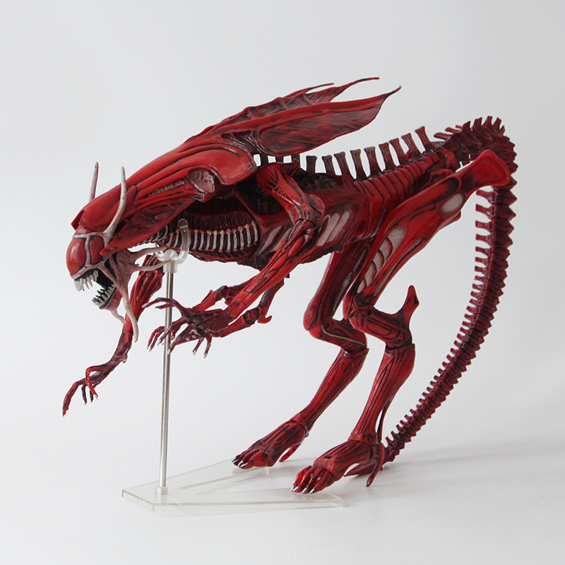 Movie AVP Anime robot toy Alien VS Predator NECA ALIENS Red Queen Mother PVC Action Figure 38cm/15 Collectible Model toys predator action figure master wolf predator anime movie predator vs alien collectible model toy pvc 200mm