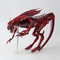Movie AVP Anime robot toy Alien VS Predator NECA ALIENS Red Queen Mother PVC Action Figure 38cm/15 Collectible Model toys