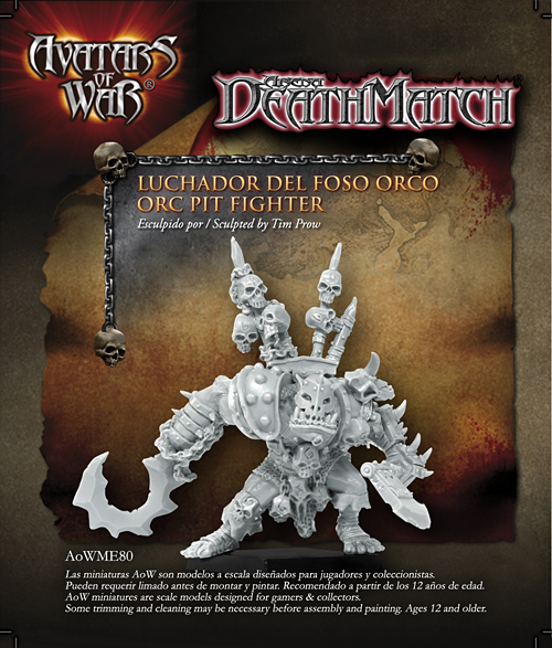 28243 Orc Warrior 28mm