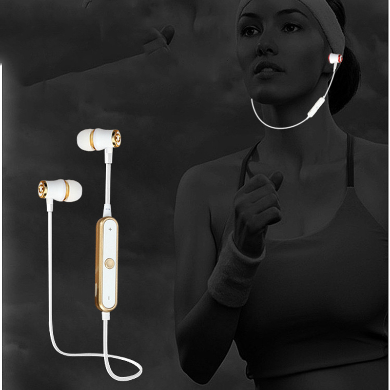 HCQWBING Bluetooth Headset Wireless Sport Earphone Headphone Earpiece Mic Stereo Earbuds For apple iphone xiaomi Mobile Phone fineblue f v2 bluetooth stereo headset bt4 0 voice prompt wireless music earphone earpiece cable with clip for oppo for iphone