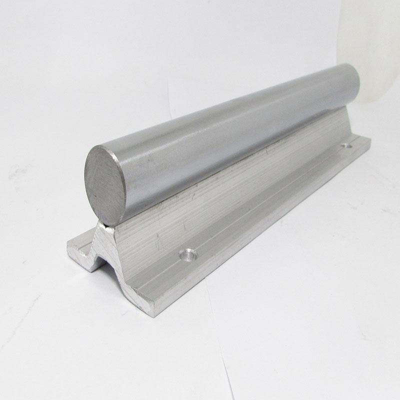 1 pc SBR20 linéaire guide rail longueur 500mm chrome plaqué trempe dur guide arbre pour CNC