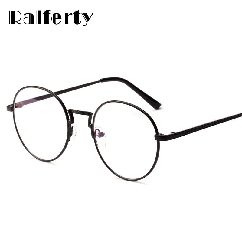 6cba48fc1c Ralferty 2018 Oversized Round Eyeglasses Frame Decorated Circle Eyewear Eye  Glasses Frames For Women Lunette Spectacles W18518