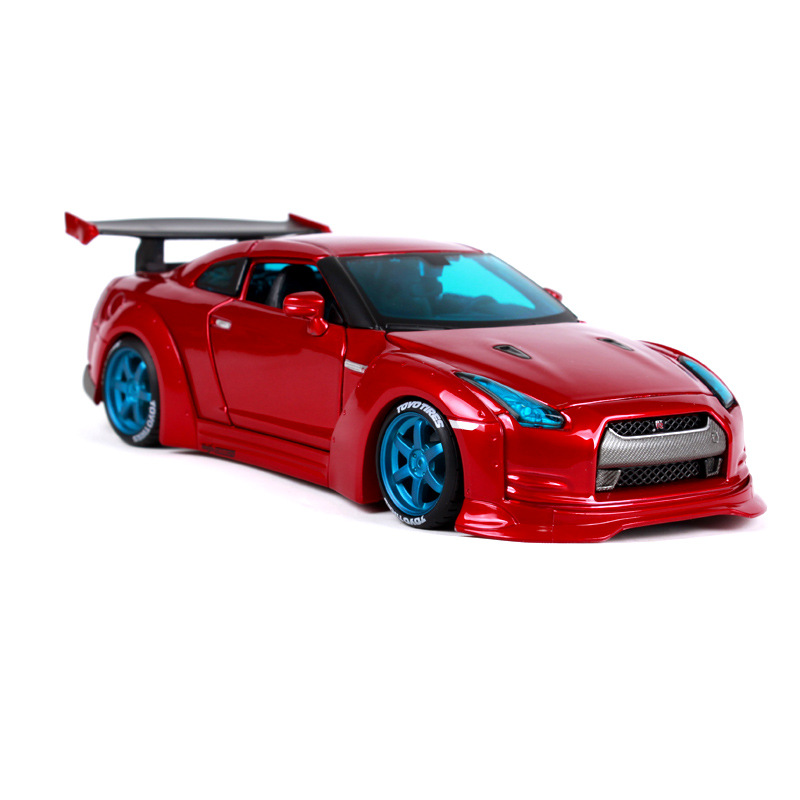 Maisto 1:24 NISSAN GTR GT R R35 Tokyo Mod Diecast Model Racing Car Vehicle Toy NEW IN BOX