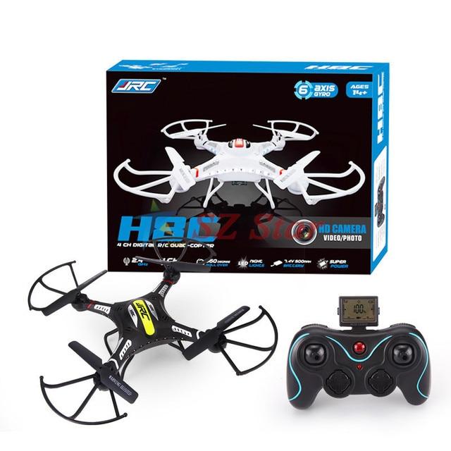 UAV H8C 4 Canais 7.4 V 2.4 GHz 6-axis 300 m metros drone rc quadcopter helicóptero de controle remoto sem câmera