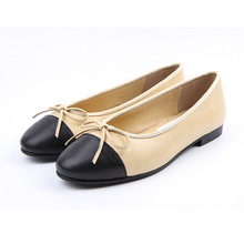 flats women genuine sheepskin leather casual shoes really leather sole to quality lady luxury brand designer flats women