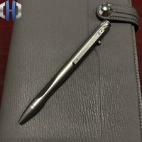 Titanium Tactical Pen Titanium Alloy TC21 Signature Pen Titanium Carbine Pen EDC Gel Pen Crowbars     -