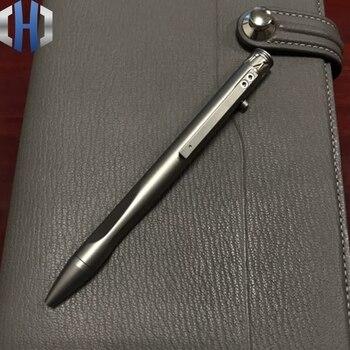 Titanium Tactical Pen Alloy TC21 Signature Carbine EDC Gel