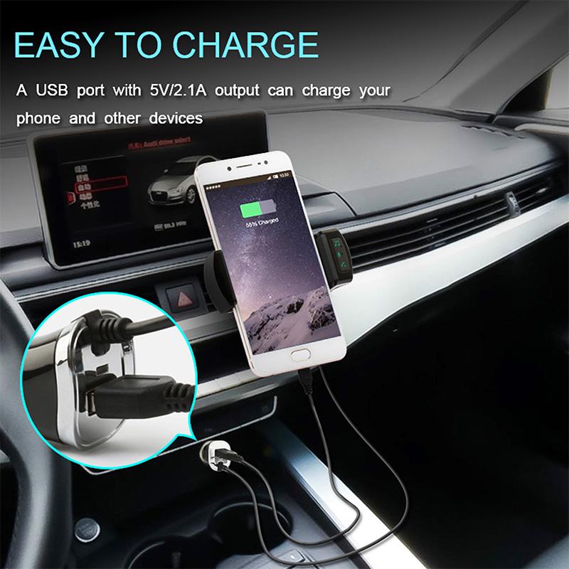 car phone holder fm transmitter (8)
