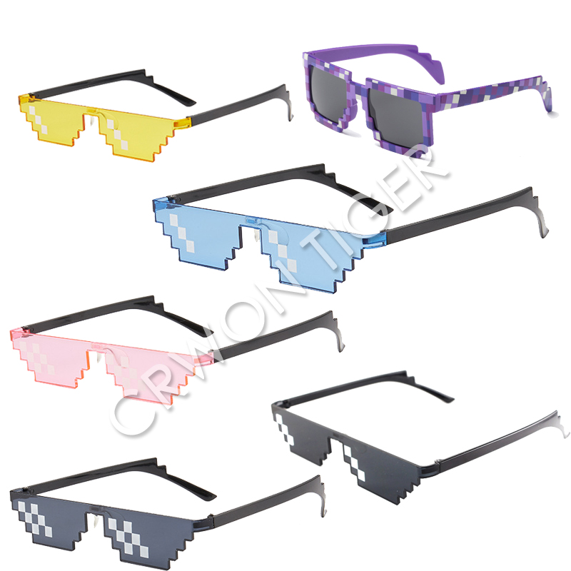 Sunglasses Kids Figure Action-Toys Cosplay-Prop Gifts Anime Game Minecrafted Boys Children