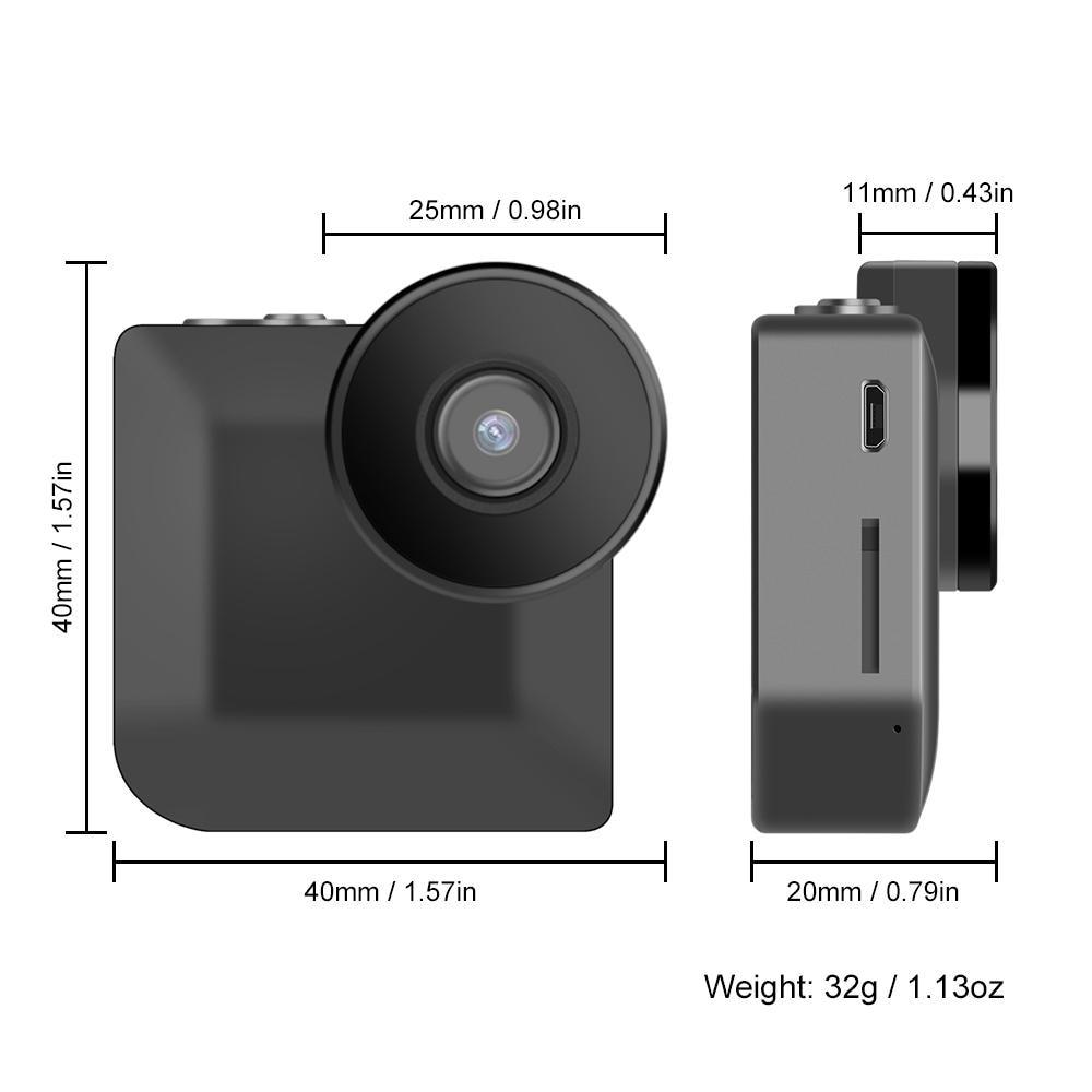 Smart actie Wifi Mini Camera 720 P HD Bewegingsdetectie Nachtzicht - Camera en foto - Foto 6