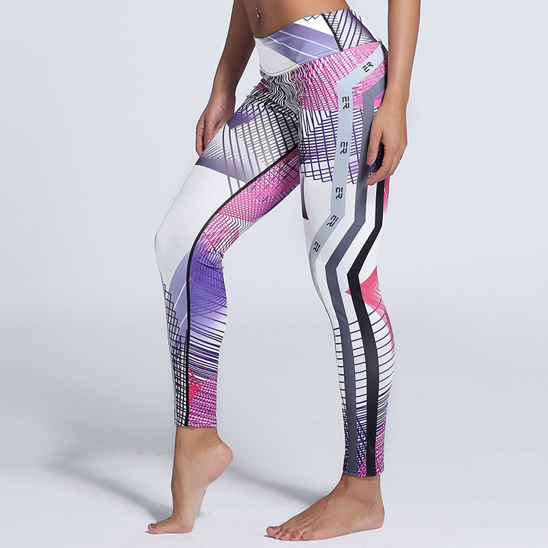 Hot Sale 3D Digital Printed Women Leggings Mujer Sexy Workout Leggins Polyester Spandex Quick Drying font