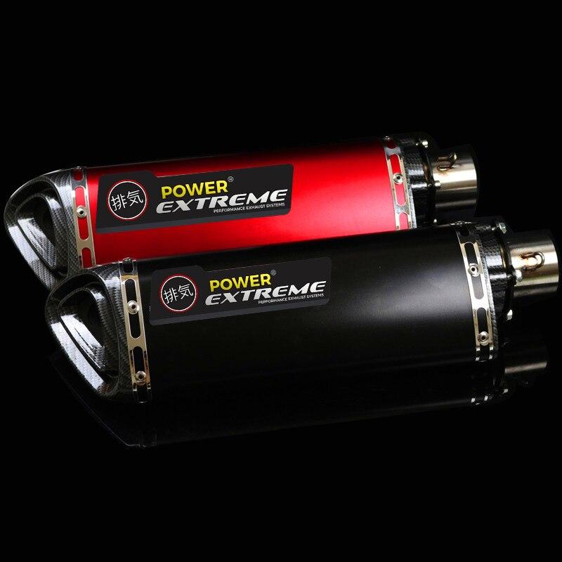 DB Killer For CB400 600 CBR600 1000 YZF FZ400 Z750 YZF600 BN600 MOTORCYCLE EXHAUST ESCAPE DIRT BIKE MUFFLER PIPE SCOOTER