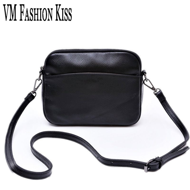 VM FASHION KISS 100%Genuine Leather Women Small Shell Messenger Bags For Women Famous Design Shoulder Bag Handbags Ladies Party vm fashion kiss genuine leather serpentine chain small messenger bags for women high quality mini shoulder bags falp bag lady