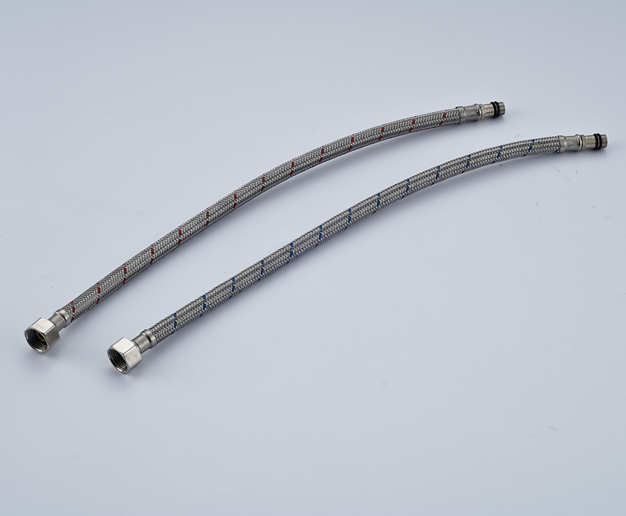 Best Quality A pair of pipe Hoses 60cm Flexible cold and hot mixer ...