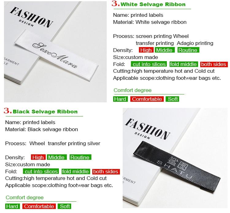 Подгонянная атласная Основная этикетка белая моющаяся имя этикетки одежды ткань маркер тегов набор для Одежда Аксессуары для шитья