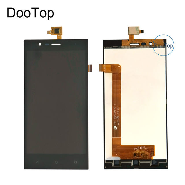 For Highscreen Boost 3 Pro Boost 3 SE Boost 3 SE Pro Boost 3 LCD Display +Touch Screen Digitizer Black Color With 3m stickers