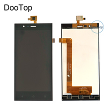 ل Highscreen Boost 3 برو Boost 3 SE Boost 3 SE برو دفعة 3 شاشة الكريستال السائل + محول الأرقام بشاشة تعمل بلمس اللون الأسود مع ملصقات 3m
